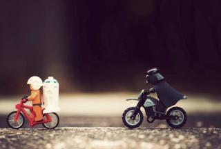 Lego Riders - Obrázkek zdarma pro 1366x768