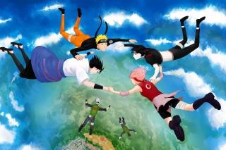 Hatake Kakashi, Sai, Uchiha Sasuke, Haruno Sakura - Obrázkek zdarma pro Samsung Google Nexus S 4G