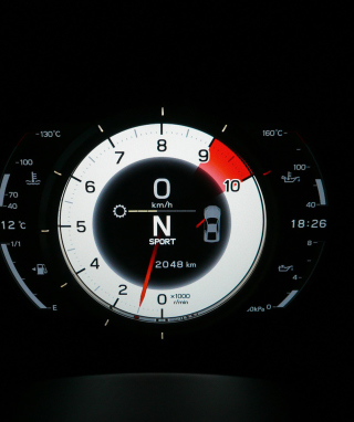 Lexus LFA Tachometer - Obrázkek zdarma pro Nokia Asha 503