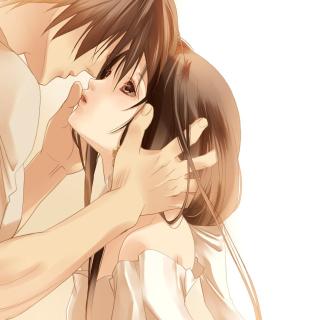 Anime Couple - Obrázkek zdarma pro iPad mini 2