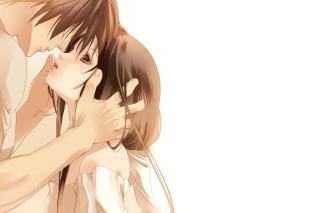 Anime Couple - Obrázkek zdarma pro Nokia Asha 210
