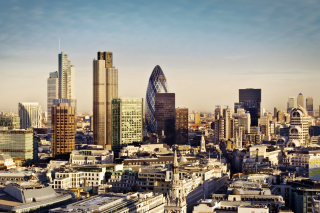 Free London City Panorama Picture for Android, iPhone and iPad