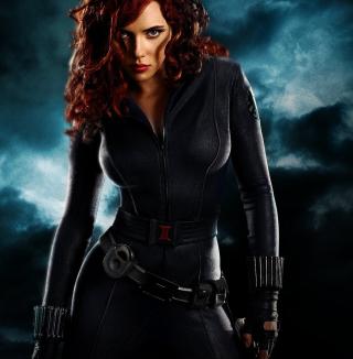 Black Widow - Obrázkek zdarma pro iPad mini 2