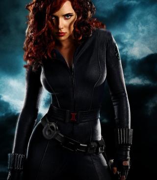 Black Widow - Obrázkek zdarma pro 132x176