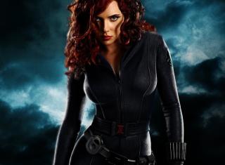 Black Widow - Obrázkek zdarma pro HTC EVO 4G