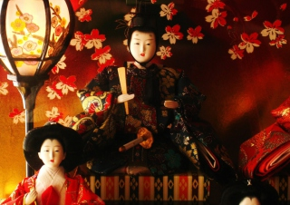 Japanese Doll Festival Wallpaper for Android, iPhone and iPad