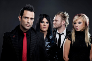 Skillet Christian Rrock Band Background for Huawei M865