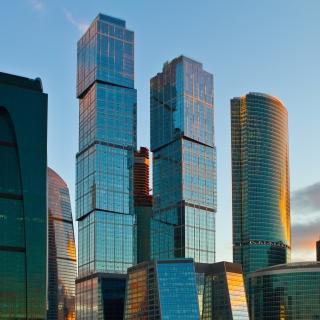 Moscow City - Obrázkek zdarma pro iPad Air