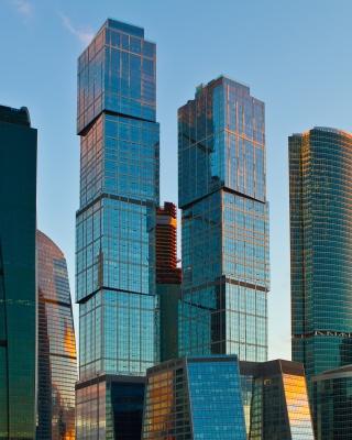 Moscow City - Obrázkek zdarma pro Nokia Asha 203
