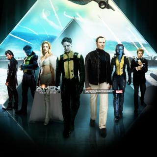 X-Men Poster - Obrázkek zdarma pro 2048x2048