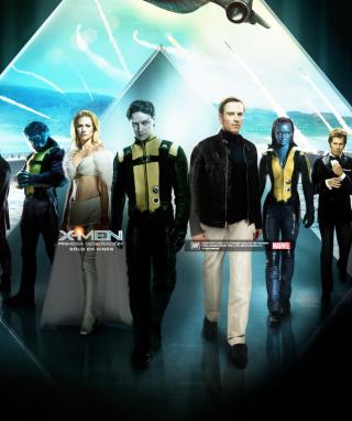 X-Men Poster - Obrázkek zdarma pro 360x480