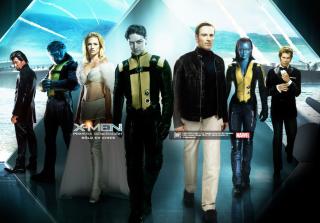 X-Men Poster - Obrázkek zdarma pro 320x240