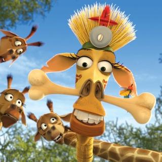 Madagascar Escape 2 Africa - Obrázkek zdarma pro iPad mini