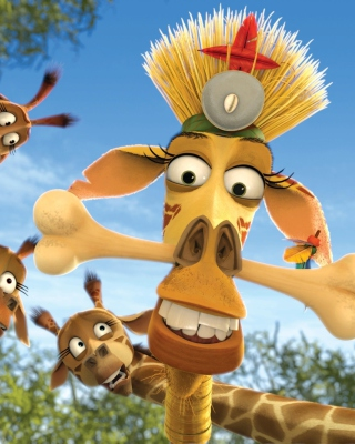 Madagascar Escape 2 Africa - Obrázkek zdarma pro 240x320