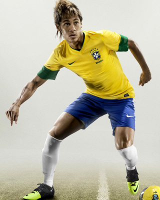 Neymar da Silva Santos - Obrázkek zdarma pro Nokia C-5 5MP