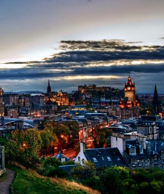 Edinburgh Lights - Obrázkek zdarma pro iPhone 3G