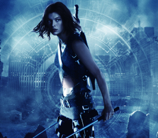 Resident Evil, Milla Jovovich - Obrázkek zdarma pro iPad mini 2