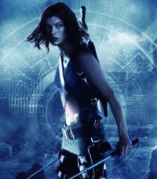 Resident Evil, Milla Jovovich - Obrázkek zdarma pro 480x640