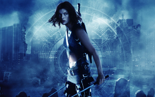 Resident Evil, Milla Jovovich - Obrázkek zdarma pro Motorola DROID