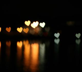 Heart Bokeh - Obrázkek zdarma pro iPad Air