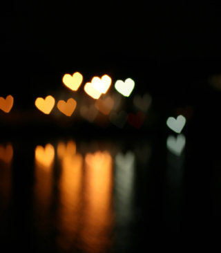 Heart Bokeh - Obrázkek zdarma pro iPhone 3G