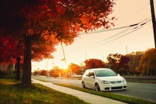 Volkswagen Golf - Obrázkek zdarma pro 480x320