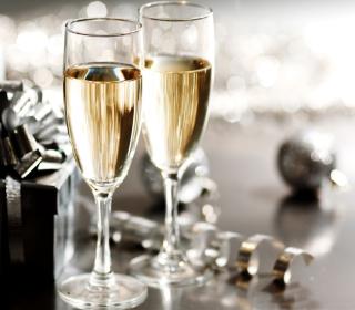 New Years Eve Champagne - Obrázkek zdarma pro iPad mini