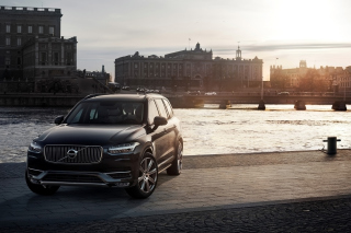 2015 Volvo XC90 SUV Background for Android, iPhone and iPad