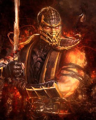 Scorpion in Mortal Kombat - Fondos de pantalla gratis para Huawei G7300