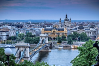 Budapest Pest Embankment Wallpaper for Android, iPhone and iPad