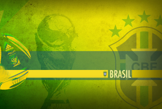 Brazil Football Background for Android, iPhone and iPad