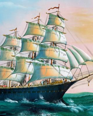 Sailboat in Crimea - Obrázkek zdarma pro 360x400