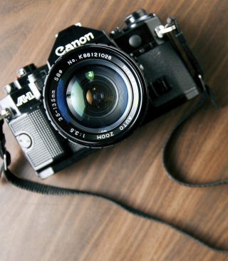 Vintage Canon - Obrázkek zdarma pro 240x432