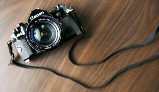 Vintage Canon - Obrázkek zdarma pro Nokia XL