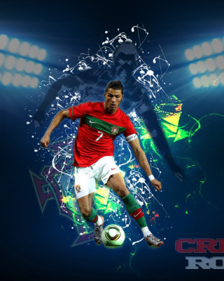 Cristiano Ronaldo - Obrázkek zdarma pro Nokia Lumia 505