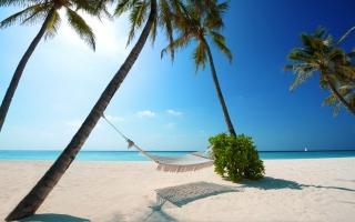 Maldives Islands - Fondos de pantalla gratis para LG E400 Optimus L3
