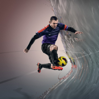 Nike Football Advertisement - Obrázkek zdarma pro iPad mini 2