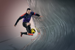 Nike Football Advertisement Picture for Android, iPhone and iPad