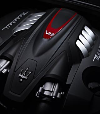 Maserati Engine V8 - Obrázkek zdarma pro 240x400