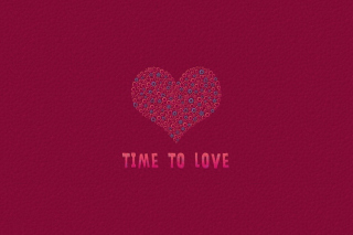 Time to Love Background for Android, iPhone and iPad
