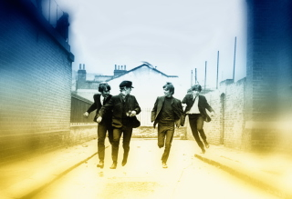 The Beatles - Obrázkek zdarma pro Sony Xperia Tablet Z