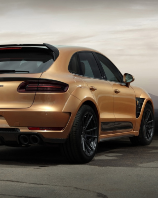 Free Porsche Macan Tuning Picture for Nokia Asha 303