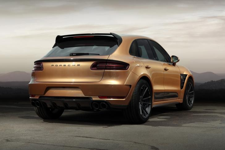 Porsche Macan Tuning wallpaper
