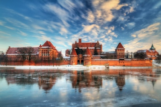 Malbork Castle - Poland Wallpaper for Android, iPhone and iPad