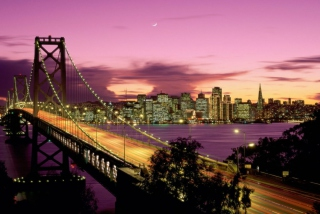 San Francisco Bridge California Background for Android, iPhone and iPad