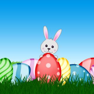 Easter bunny - Obrázkek zdarma pro 208x208