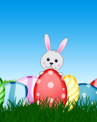 Easter bunny - Obrázkek zdarma pro 360x400
