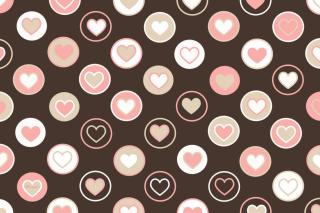 Pink Hearts - Fondos de pantalla gratis para Samsung S5367 Galaxy Y TV