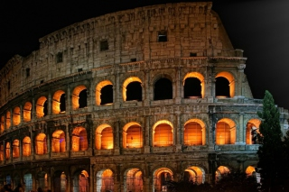 Roman Colosseum Wallpaper for Android, iPhone and iPad