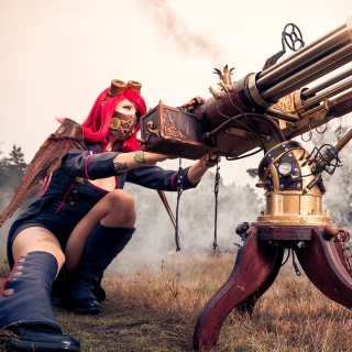 Fallout 4 cosplay costume - Obrázkek zdarma pro iPad mini
